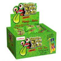 3884-CHICLE SUPER HIPER ACIDO MANGO BICHE X 40 UDS